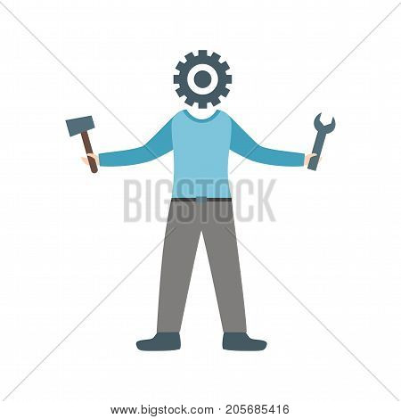 Practical, real, actual icon vector image. Can also be used for Personality Traits. Suitable for web apps, mobile apps and print media.
