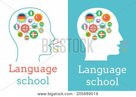 Icon Of The Language School
