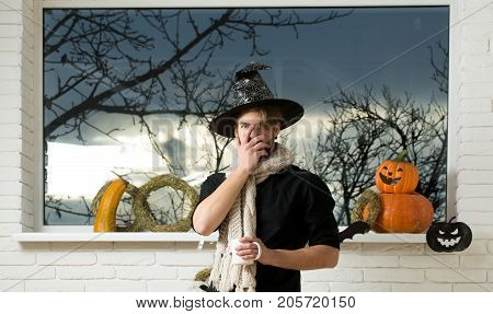 Halloween Warm And Homely Atmosphere