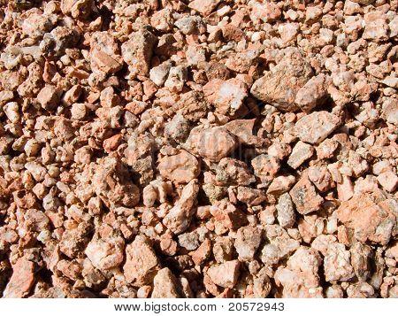 Rote Steine Textur