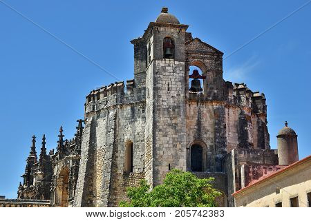 The Convent of Christ is a former Roman Catholic monastery in Tomar Portugal. The convent was founded by the Order of Poor Knights of the Temple in 1118
