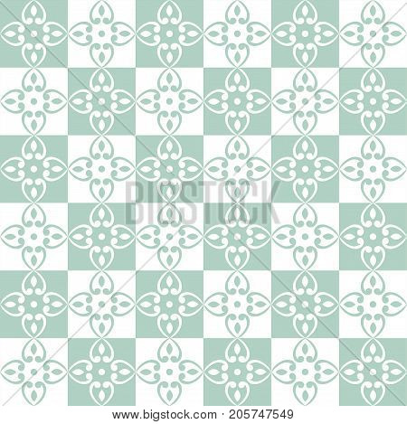 Seamless pattern with blue patchwork. Seamless background for textile wallpaper pattern fills covers surface print gift wrap packaging paper ceramic tile