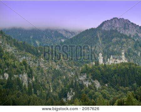 Neuschwanstein Castle Sideview