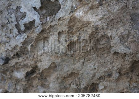 Surface of the marble with brown tint. Stone texture and backgro