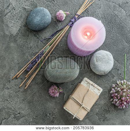 Handmade soap and spa spiritual smoking sticks