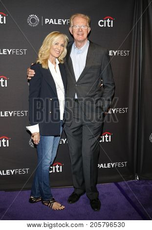 Ed Begley Jr. and Rachelle Carson at the 11th Annual PaleyFest Fall TV Previews - Hulu's 'Future Man' held at the Paley Center for Media in Beverly Hills, USA on September 8, 2017.