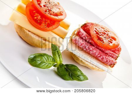 Breakfast - sandwiches