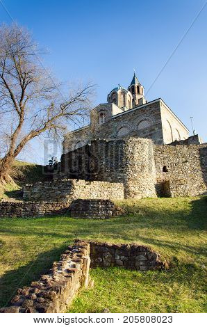 Patriarchal church at Tsarevets fortress, Veliko Tarnovo, Bulgaria