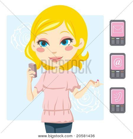Mobile Phone Woman
