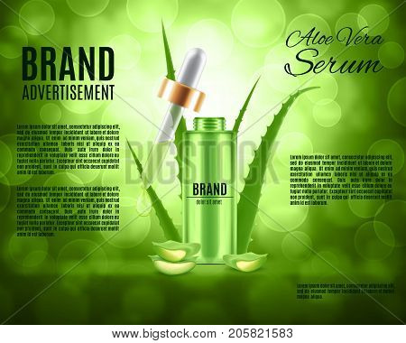 Aloe Vera Serum Vector & Photo (Free Trial) | Bigstock