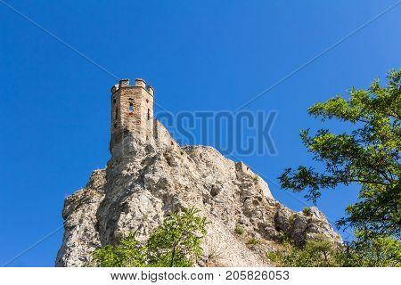 Devine Castle In Slovakia