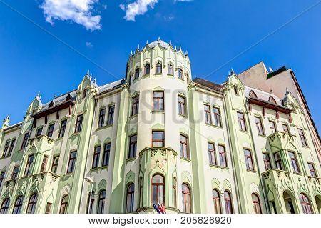 Building In Bratislava