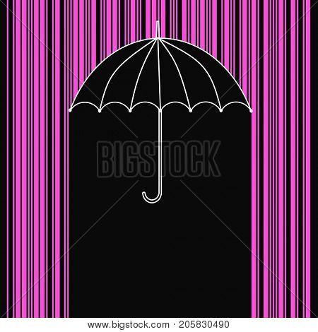 Purple rain bar code