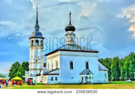 Church of the Resurrection in Suzdal, the Golden Ring of Russia