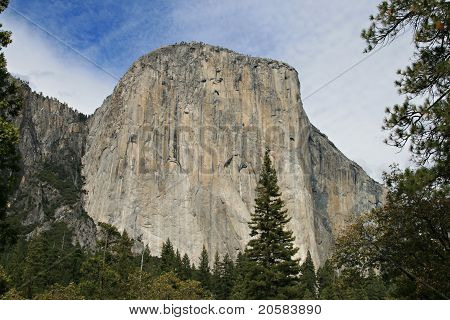 El Capitan At Yosemite National Park