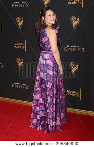 LOS ANGELES - SEP 9:  Amber Nash at the 2017 Creative Emmy Awards at the Microsoft Theater on September 9, 2017 in Los Angeles, CA