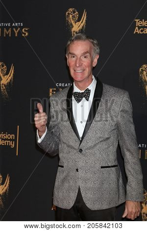LOS ANGELES - SEP 9:  Bill Nye at the 2017 Creative Emmy Awards at the Microsoft Theater on September 9, 2017 in Los Angeles, CA