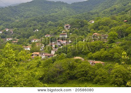 Traditional village of 'Skotino' at Greece