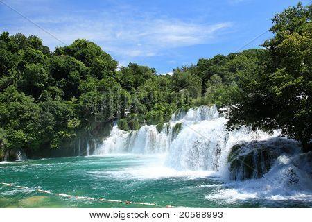 Wasserfälle Krka