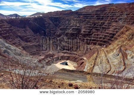 Bisbee Open Strip Mine, Arizona