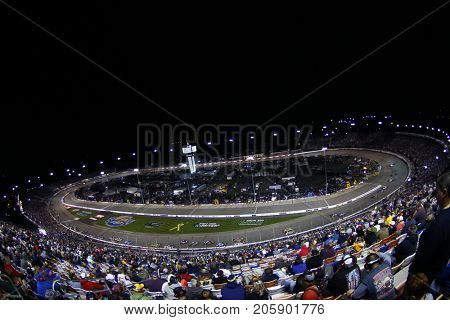 September 09, 2017 - Richmond, Virginia, USA: The Monster Energy NASCAR Cup Series teams take to the track for the Federated Auto Parts 400 at Richmond Raceway in Richmond, Virginia.