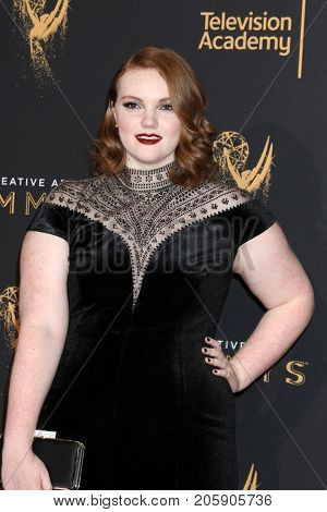 LOS ANGELES - SEP 10:  Shannon Purser at the 2017 Creative Arts Emmy Awards - Arrivals at the Microsoft Theater on September 10, 2017 in Los Angeles, CA