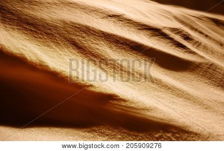background of sand like barchan at summer