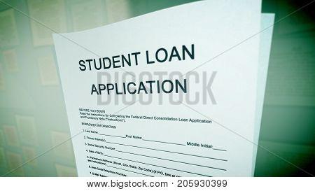 Pop Art Student Loan Illustration