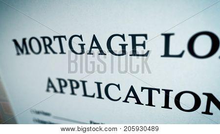 Abstract Mortgage Loan Illustration