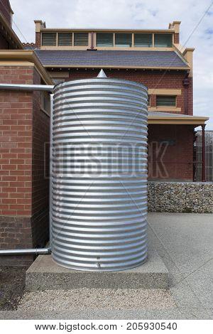 Rainwater Tank, Goodman Building, Adelaide Botanic Garden