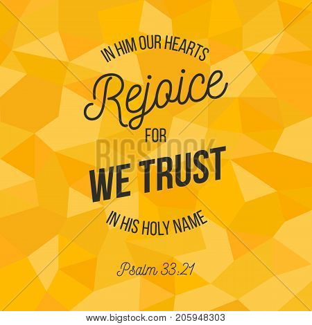 bible verse for christian or catholic about trust in god with all heart from psalm