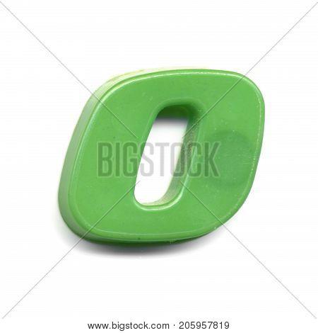 Plastic Magnetic Number 0