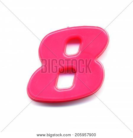 Plastic Magnetic Number 8
