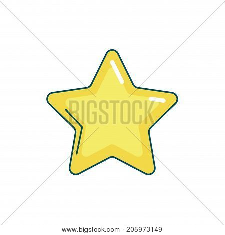 nice star spartly design icon vector illustration