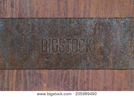 Very Rusted Metal Plate Texture Composition W