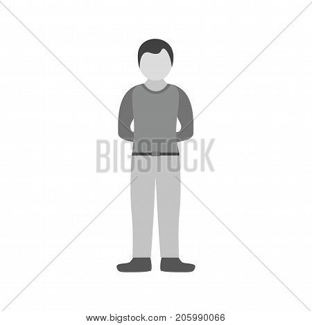 People, positive, humble icon vector image. Can also be used for Personality Traits. Suitable for web apps, mobile apps and print media.