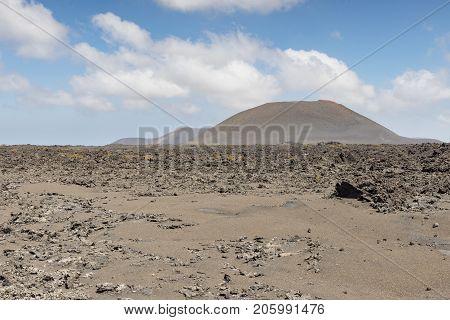 View Of Volcano
