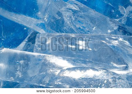ice cold background . Photo of an abstract texture