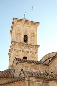 Bell tower of st. Lazaros Church. Larnaca. Cyprus poster