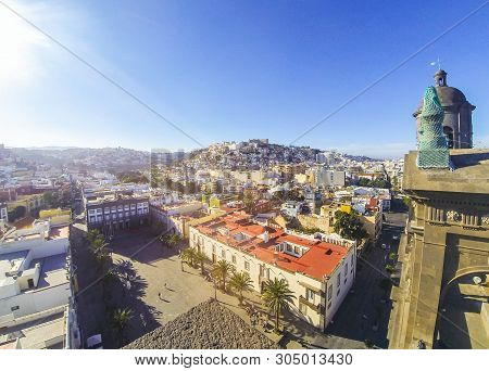Panorama Las Palmas De Image Photo Free Trial Bigstock