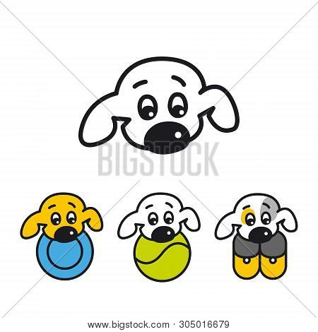 Buddy, the logo for zoo shop or zooclub, dog grooming, dog service, veterinary clinic, dog breeder, pet poster