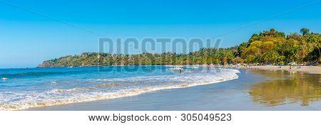 Manuel Antonio,costa Rica - March 25,2019 - Panoramic View At The Beach Espadilla In Manuel Antonio