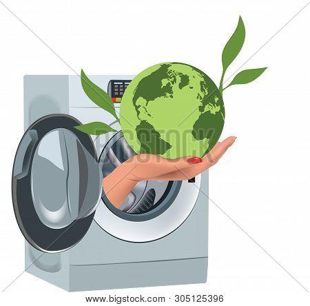 Washing Green Pristine Earth Ecology Washing Green Pristine Earth Ecology