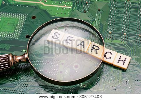 Search Results From Search Engine Query, Searching The Internet