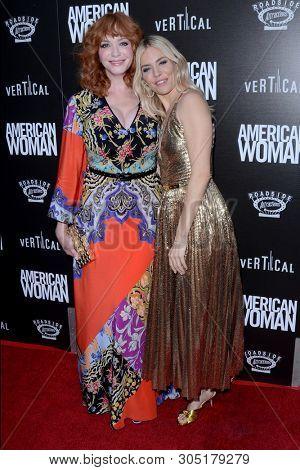 LOS ANGELES - JUN 5:  Christina Hendricks, Sienna Miller at the