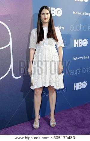 LOS ANGELES _ JUN 4:  Hadas Mozes Lichtenstein at the LA Premiere Of HBO's