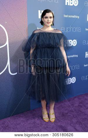 LOS ANGELES _ JUN 4:  Barbie Ferreira  at the LA Premiere Of HBO's
