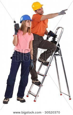 A couple of handyman.