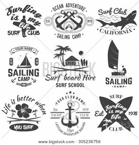 Set Sailing Camp, Vector & Photo (Free Trial) | Bigstock