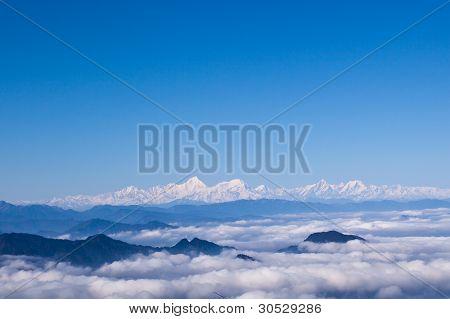 Minya Konka And Sea Of Clouds
